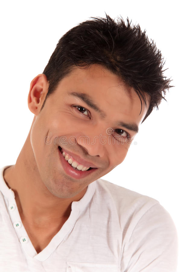 Attractive Nepalese young man royalty free stock images