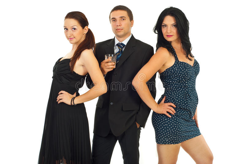 Attractive people stock image