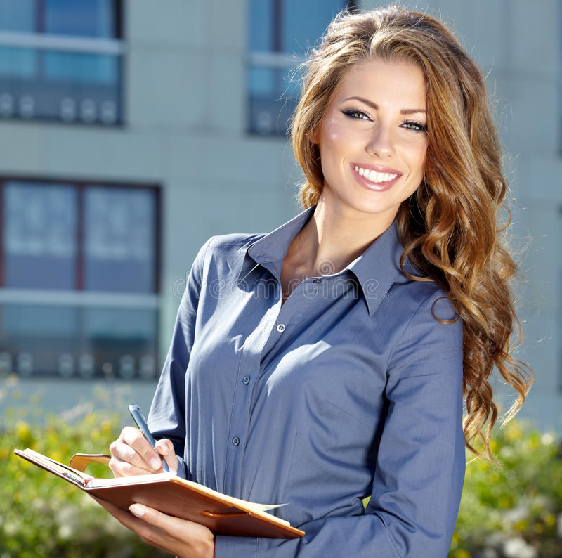Free Attractive Real Estate Agent Woman Royalty Free Stock Image - 29247276