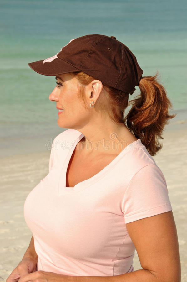 Download Attractive Redheaded Woman stock image. Image of adult - 22070195