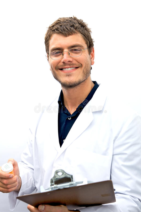 Attractive Scientist Student royalty free stock photos