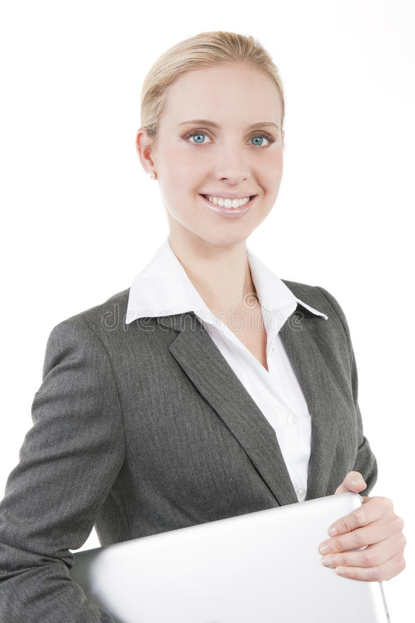 Download Attractive Smiling Business Woman Stock Image - Image: 16572347