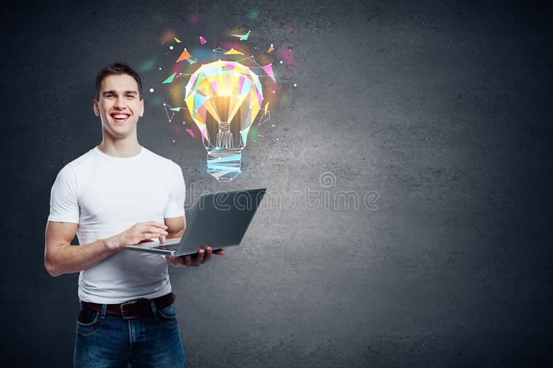 Innovation and connectivity concept stock photo