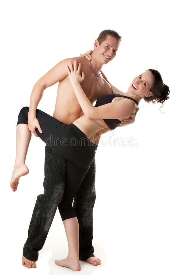 Download Attractive sport couple stock image. Image of space, exercise - 18529439