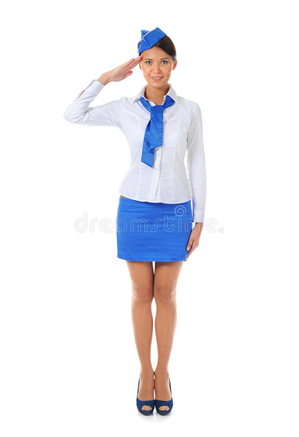 Download Attractive stewardess stock photo. Image of beautiful - 21870318