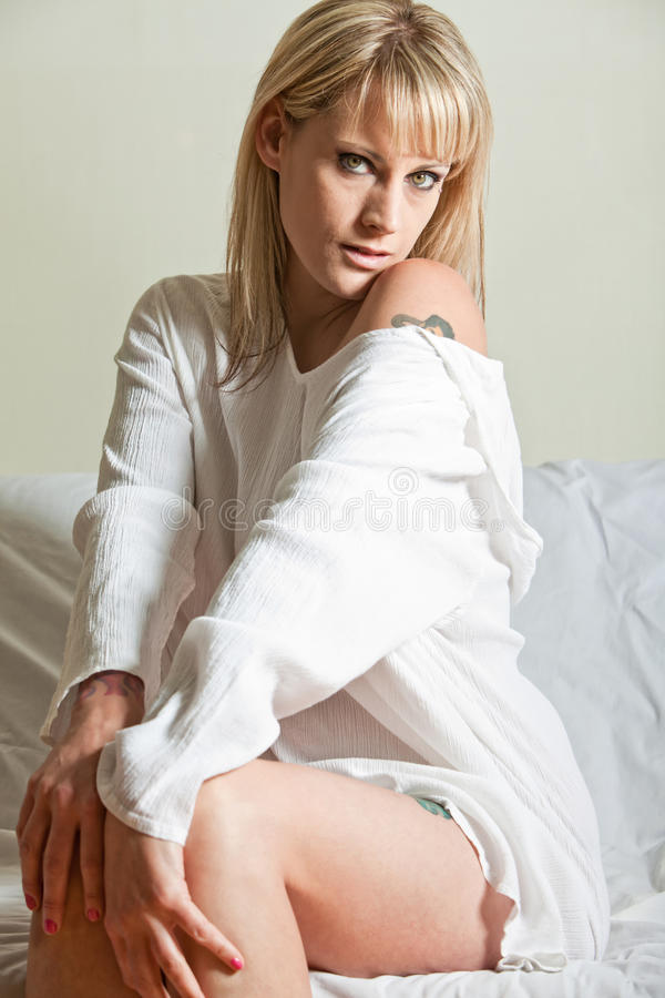 Download Attractive Thirties Blond Caucasian Woman Royalty Free Stock Image - Image: 22338376