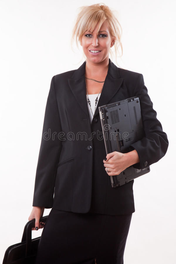Download Attractive Twenties Caucasian Blonde Businesswoman Royalty Free Stock Photography - Image: 17237227