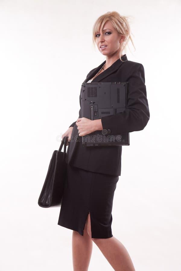 Attractive Twenties Caucasian Blonde Businesswoman Royalty Free Stock Image