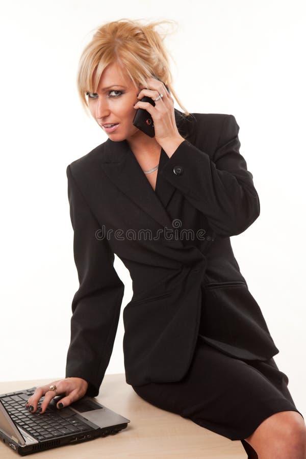 Download Attractive Twenties Caucasian Blonde Businesswoman Stock Image - Image: 17237409