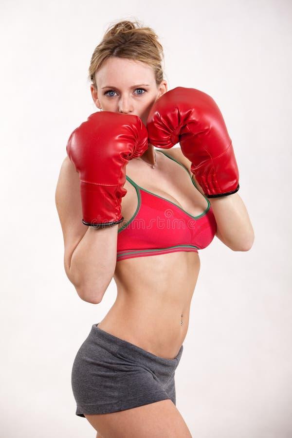 Attractive Twenties Caucasian Fitness Woman Stock Photo