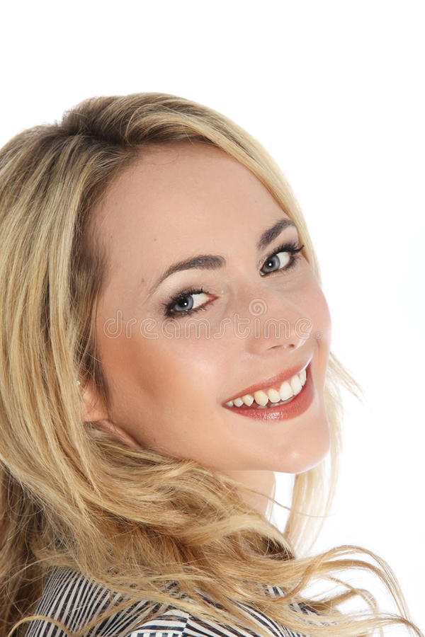 Download Attractive Vivacious Blonde Woman Stock Image - Image: 26853691