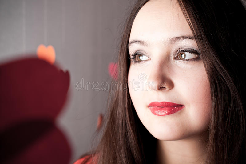 Download Attractive woman stock image. Image of beautiful, model - 18042727