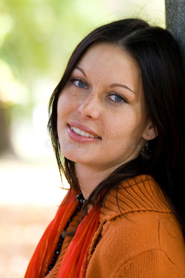 Download Attractive woman stock image. Image of modern, face, happy - 3613175