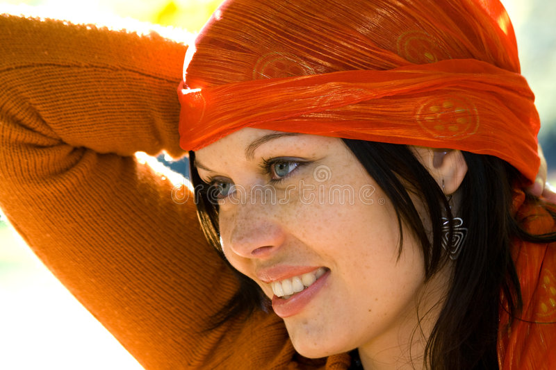 Download Attractive woman stock image. Image of fashion, cute, city - 3613287