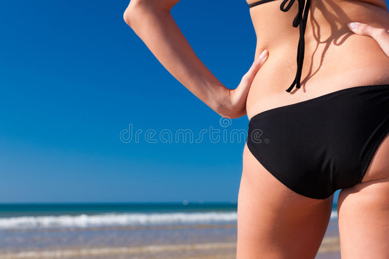 Download Attractive Woman In Bikini On Beach Stock Image - Image: 20662777