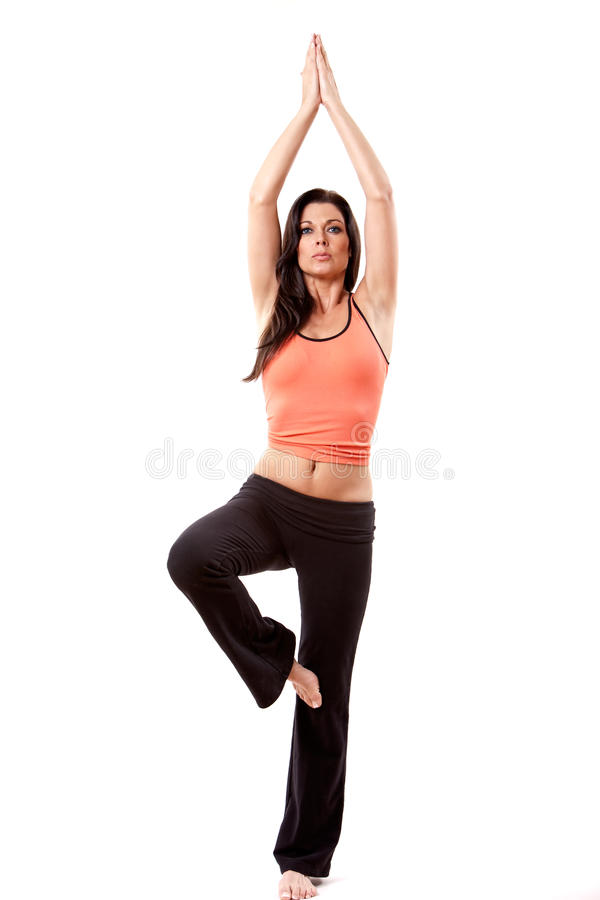 Download Attractive Woman Doing Yoga Royalty Free Stock Images - Image: 17239119