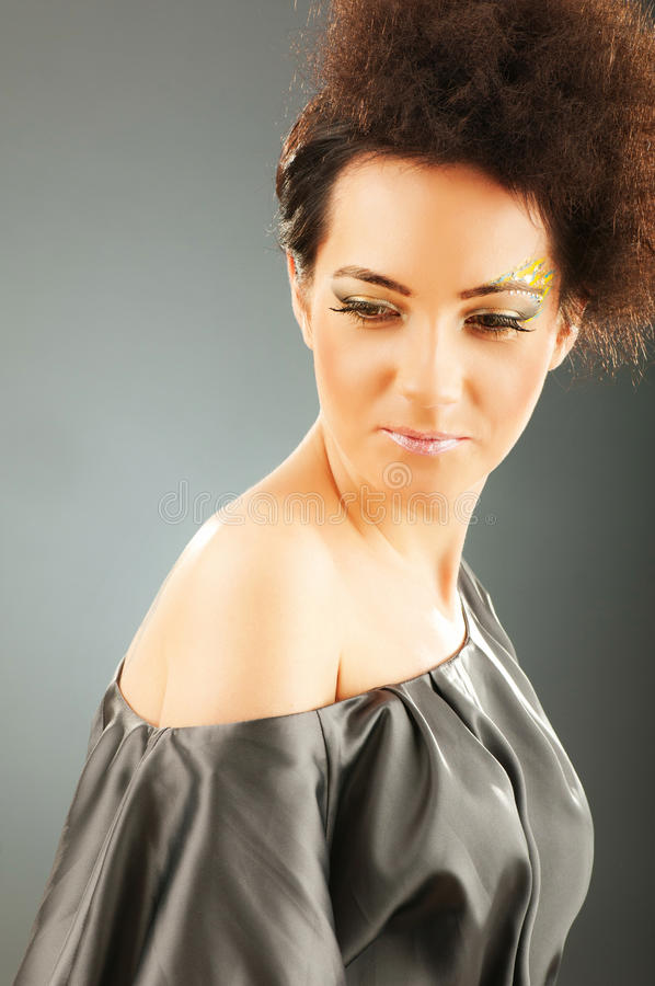 Download Attractive Woman With The  Make Up Stock Image - Image: 18105847