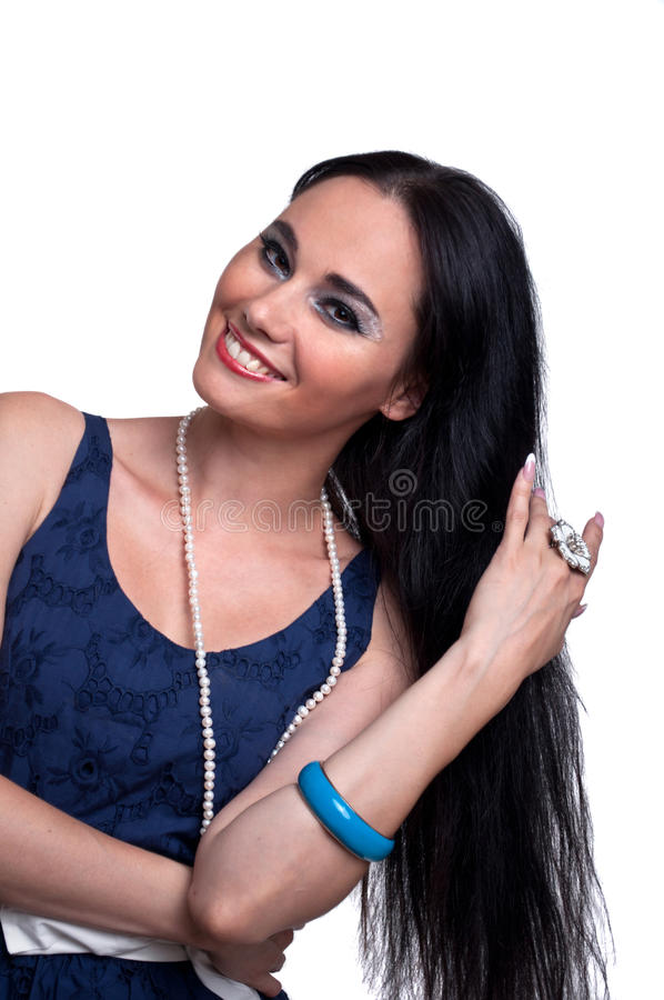 Download Attractive woman Portrait stock photo. Image of body - 39505570