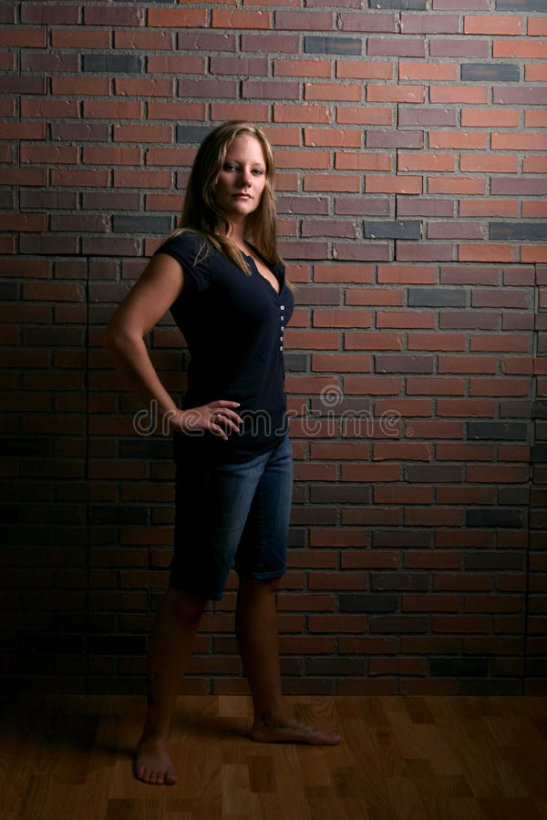 Free Attractive, Woman Standing With Attitude Royalty Free Stock Photos - 13976868