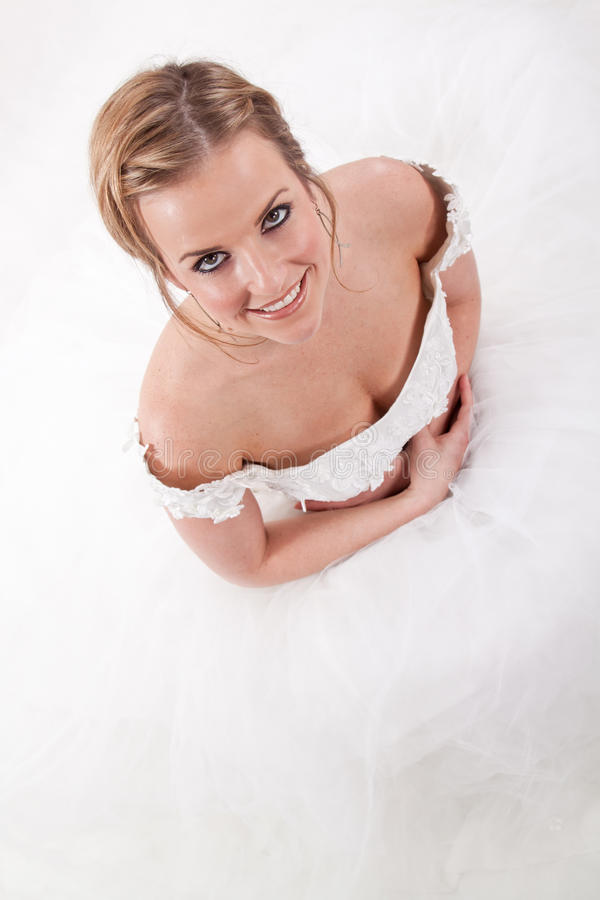 Download Attractive Woman In Wedding Dress Stock Photo - Image: 18730916