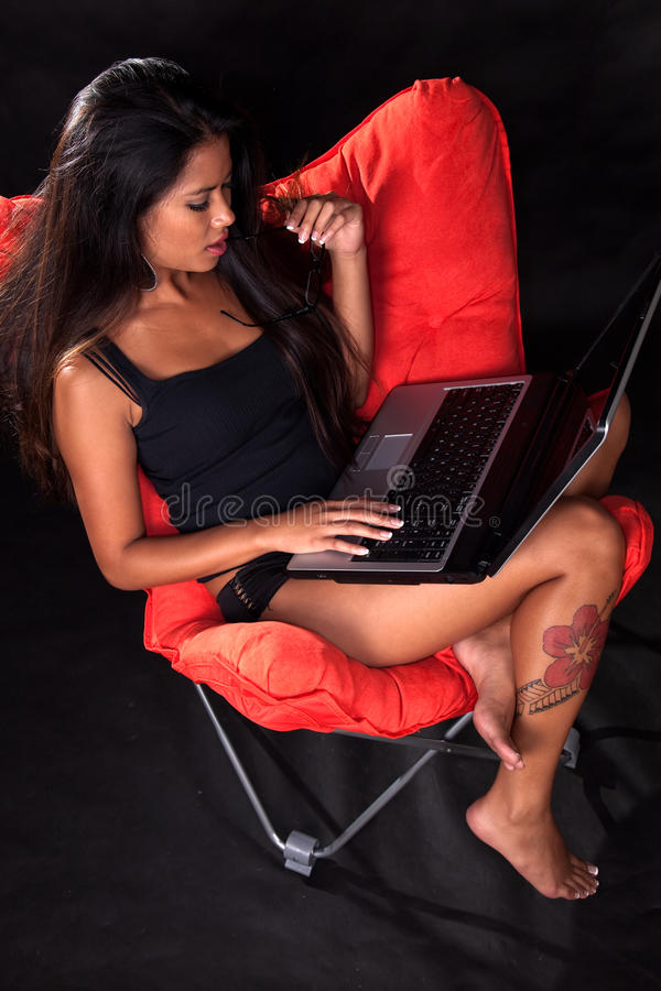 Download Attractive Young Asian Pacific Islander Woman Stock Photo - Image: 11941842