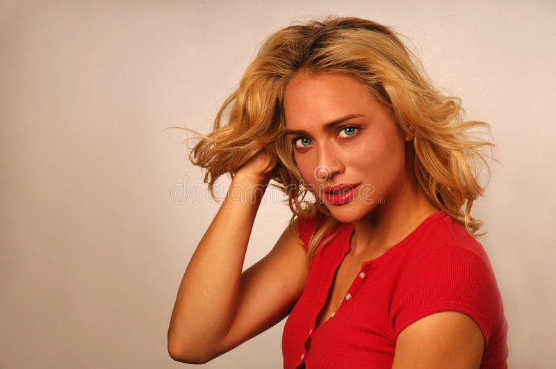 Download Attractive Young Blond Woman Stock Photo - Image: 2937354