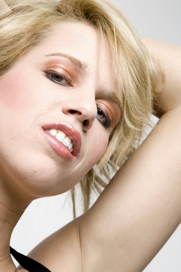Attractive Young Blond Woman Royalty Free Stock Photo