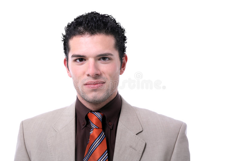 Download Attractive Young Business Man Portrait Stock Photo - Image: 7622980