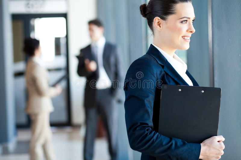Download Attractive Young Businesswoman Stock Image - Image: 26122001