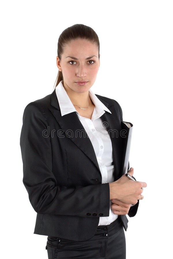 Download Attractive Young Businesswoman Stock Photo - Image: 4384754