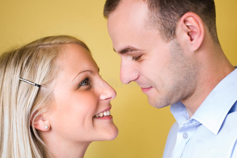 Download Attractive young couple. stock image. Image of blue, casual - 22222971