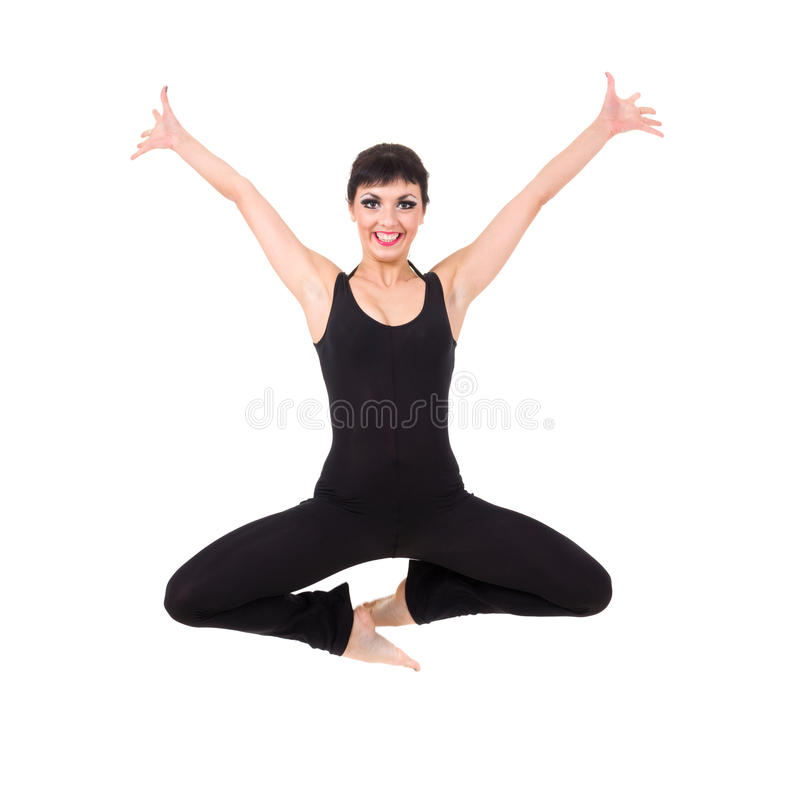 Download Attractive Young Dancer Jumping Stock Photo - Image: 26846506