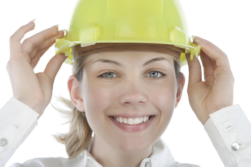 Download Attractive Young Engineer Royalty Free Stock Images - Image: 9963699