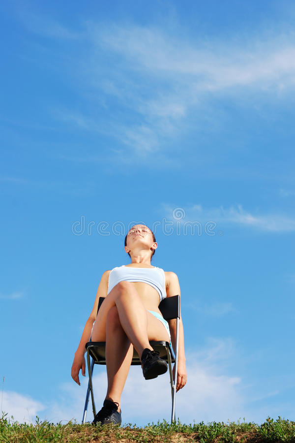 Download Attractive Young Lady Relaxation Stock Photo - Image: 11741360