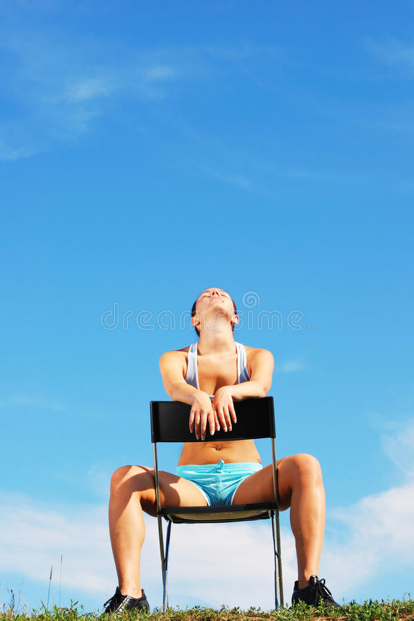 Download Attractive Young Lady Relaxation Royalty Free Stock Images - Image: 11741379