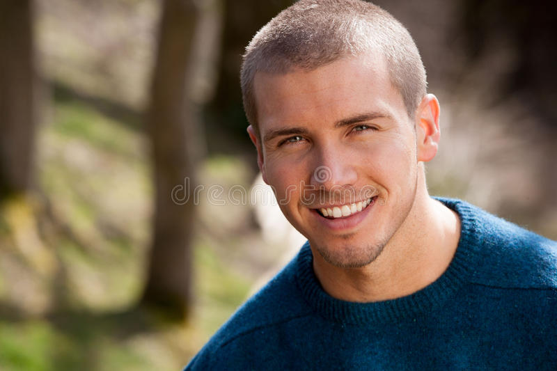 Attractive Young Man Royalty Free Stock Image
