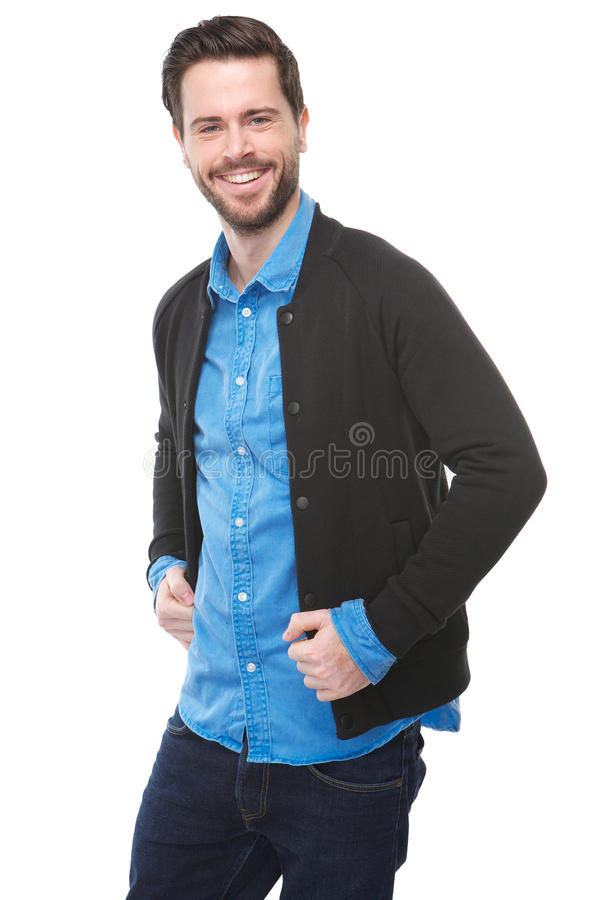 Download Attractive Young Man With Beard Laughing Royalty Free Stock Photo - Image: 33838725