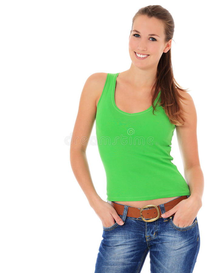 Download Attractive young woman stock image. Image of attractive - 22111903