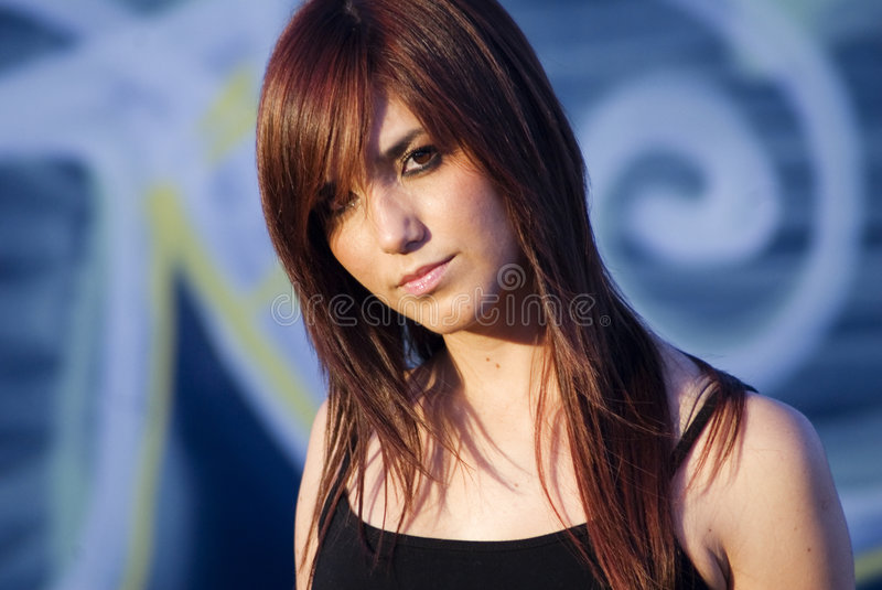 Attractive Young Woman stock photo