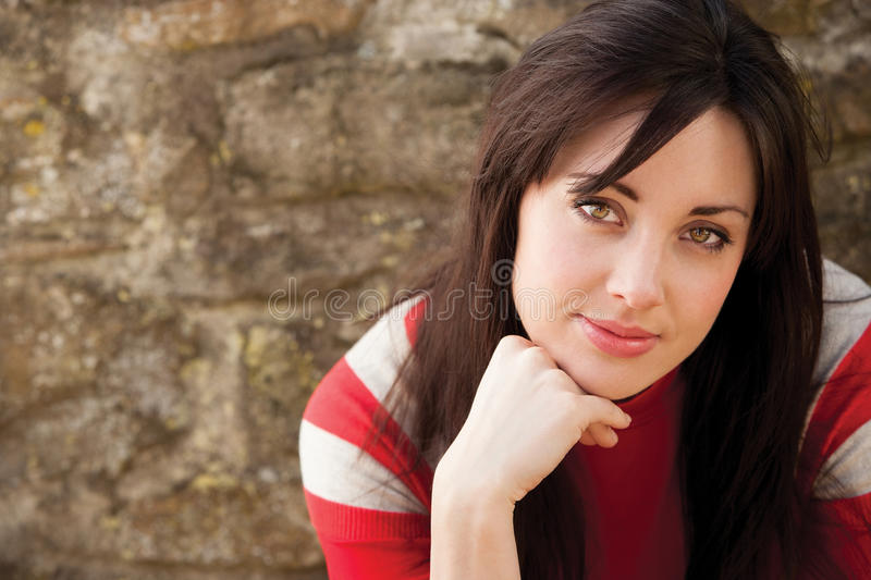 Download Attractive young woman stock photo. Image of cheerful - 28824700