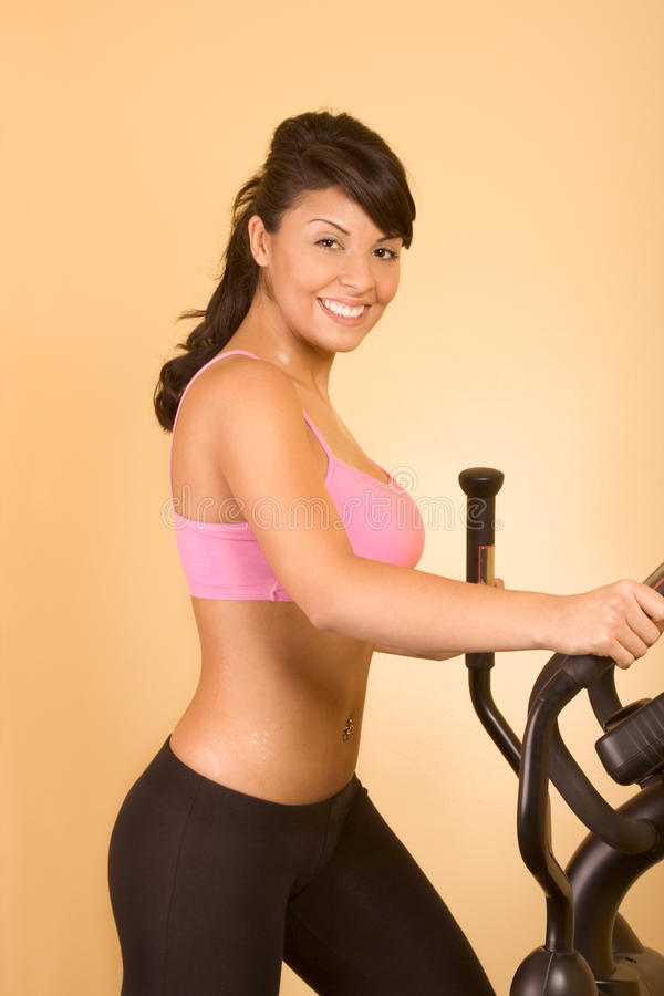 Download Attractive Young Woman Doing Cardio Workout Stock Photo - Image: 21979402