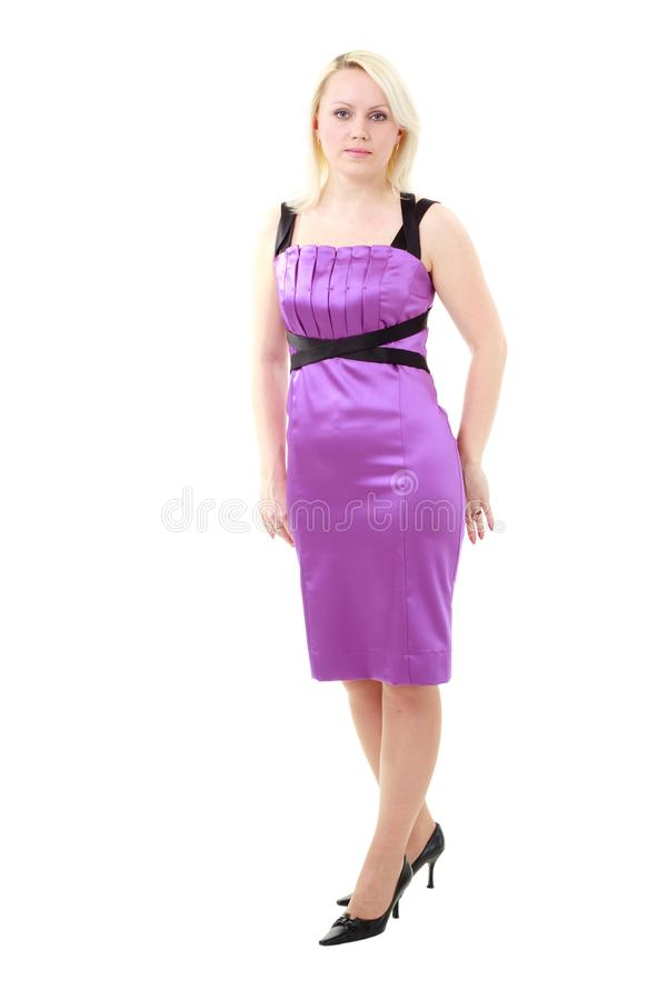Download Attractive Young Woman In Dress Stock Image - Image: 12907287