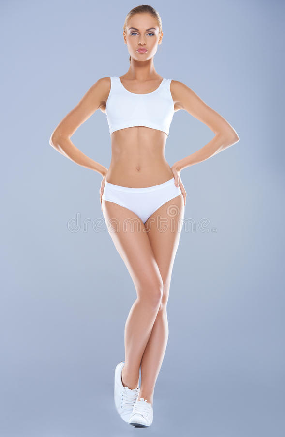 Download Attractive Young Woman With Perfect Body Stock Photo - Image: 27250212