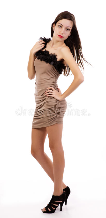 Free Attractive Young Woman Standing Stock Images - 27790714