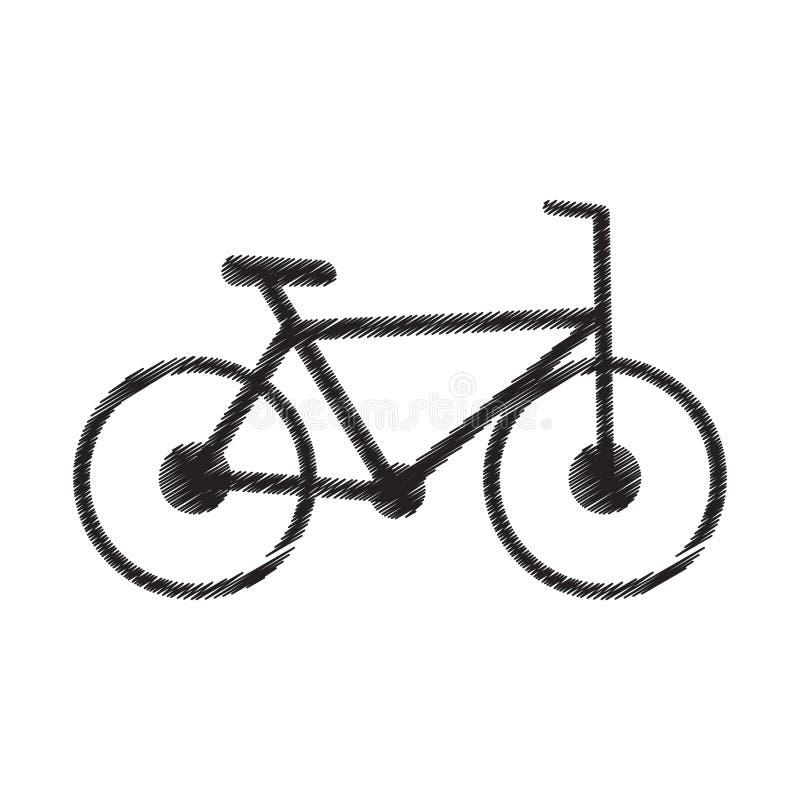 attraktion för pictogram för cykeltransportsport fritids- vektor illustrationer