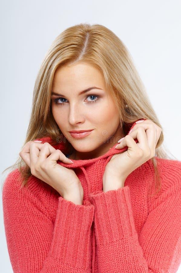 attraktiv kvinna royaltyfria bilder