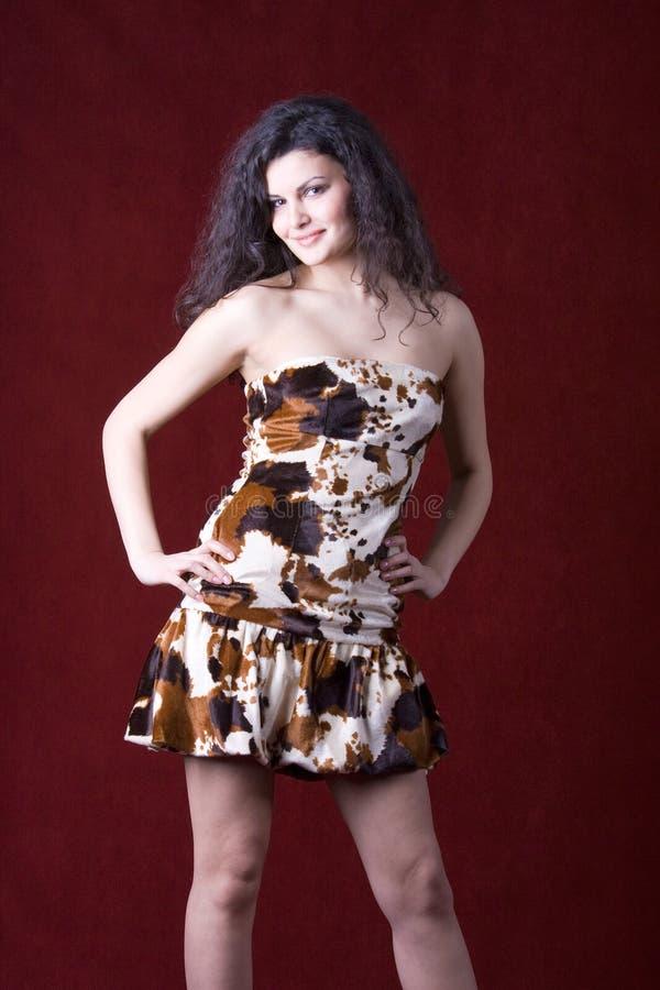 attraktiv modemodell fotografering för bildbyråer