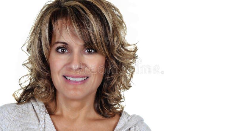 attraktiv mogen kvinna fotografering för bildbyråer