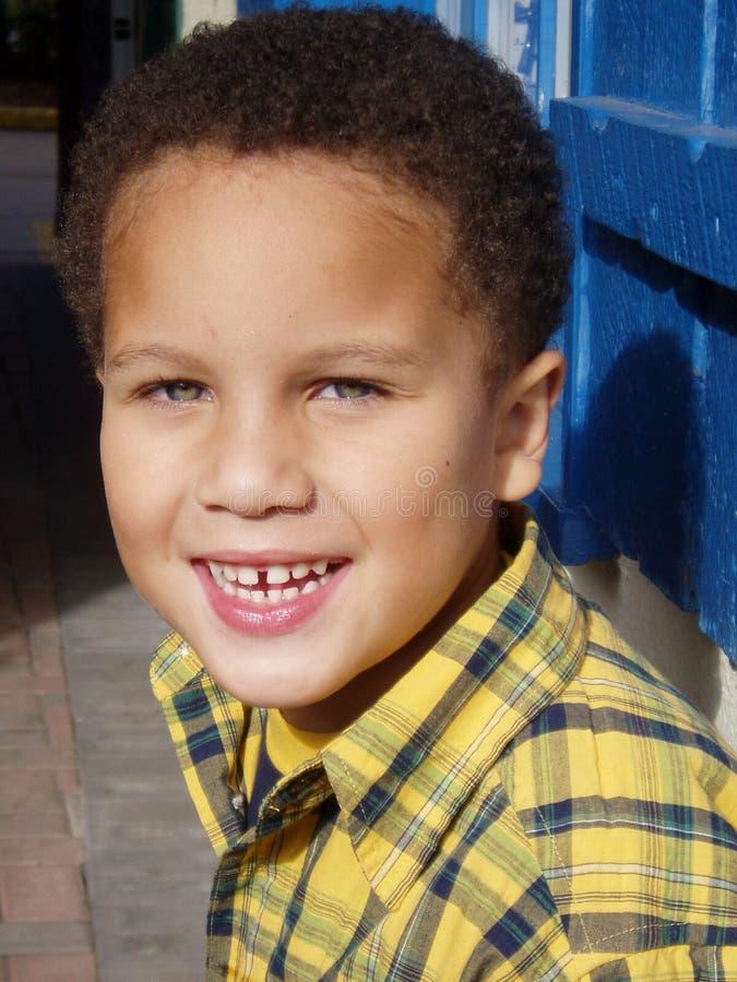 attraktiv pojke royaltyfri bild