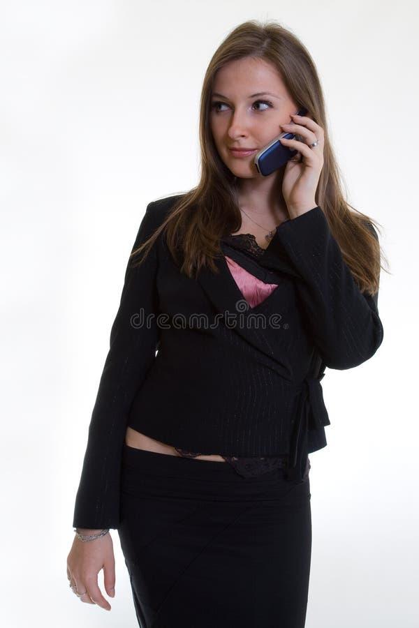 attraktiva affärskvinnacaucasiantwenties arkivbilder
